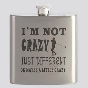 I'm not Crazy just different Hammer Throw Flask